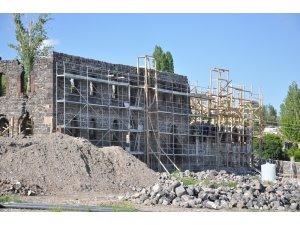 Beylerbeyi Sarayı'nda restorasyon çalışmaları devam ediyor