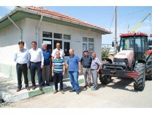Çiftçiler, ürünleri TMO'ya dökmeye başladı