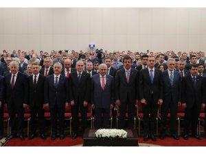 """Başbakan Yıldırım: """"Polemikler ile afaki laflar ile propaganda yapıyorlar"""""""