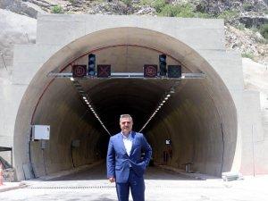 Amasya'da yapılan Ferhat Tüneli hizmete açılıyor
