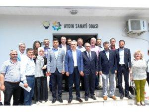 AK Parti'den Sanayi Odası Yönetimi ile bir araya geldi