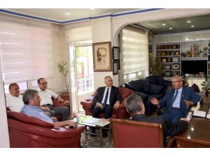 Başkan Albayrak, Şarköy Belediye Başkanı ve vatandaşlarla buluştu