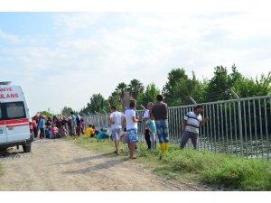 Sulama kanalına düşen 4,5 yaşındaki çocuk suda kayboldu
