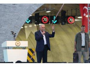 Başbakan Yıldırım, Sabuncubeli Tünelleri'ni hizmete açtı