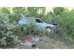 Hisarcık'ta trafik kazası: 4 yaralı