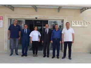 Aydın Vergi Dairesi Başkanı, KUTO'yu ziyaret etti