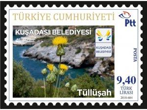 Kuşadası Belediyesi'nden Tüllüşah temalı posta pulları