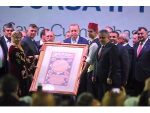 Büyük Bursa iftarına katılan Cumhurbaşkanı Erdoğan: