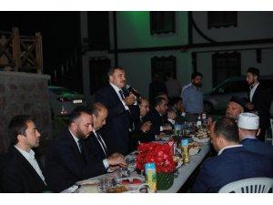 Bakan Eroğlu Fatsa'da iftar programına katıldı