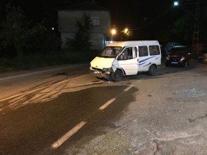 İftar vakti minibüsün freni boşaldı: 1 ölü