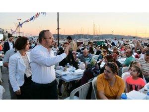 AK Parti'den kordon boyunda 10 bin kişilik iftar