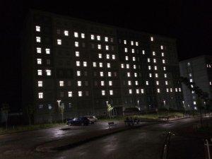 Yurt ışıklarıyla Mehmetçik'e 'Kandil' desteği