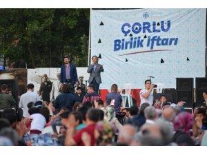 Beyoğlu Belediyesinden Çorlu'da Birlik İftarı