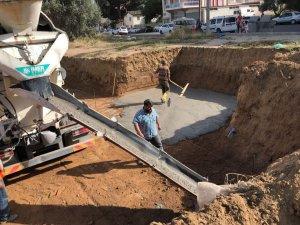 Başkan Kılınç Çarşı Mahallesindeki caminin temelini attı