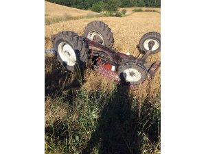 Kepsut'ta traktör kazası: 1 ölü
