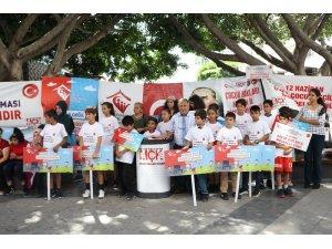 Mersin'de 'Çocuk İşçiliği ile Mücadele Günü' etkinlikleri