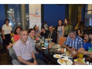 Forum Trabzon AVM'den basına iftar yemeği