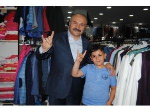 """MHP'li Usta: """"Liderimiz Devlet Bahçeli ülkenin başının dik, bağımsız ve hür olması için fedakarlıklar yaptı"""""""