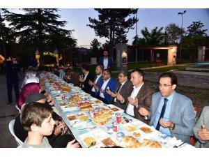Bilecik Belediyesi'nden il protokol üyelerine iftar