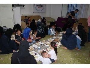 Gaziantep'te Suriyeli yetimlere iftar