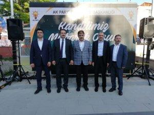 Yavilioğlu seçim çalışmalarına Bayburt'la devam etti