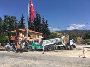 Büyükşehir Ataeymir'e hizmetlerini sürdürüyor