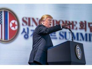 """ABD Başkanı Trump: """"Kuzey Kore'ye yaptırımlar devam edecek"""""""