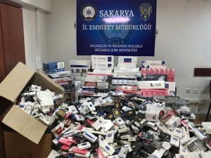 Sakarya'da 3 bin 904 paket kaçak sigara ele geçirildi