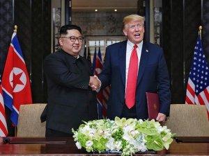 'ABD Güney Kore ile askeri tatbikatları durduracak'