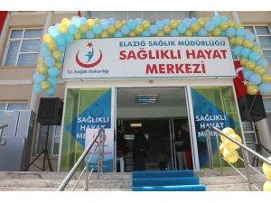 Elazığ'da Sağlıklı Hayat Merkezi hizmete girdi