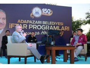 Adapazarı Belediyesi mahalle iftarı Camili'de yapıldı