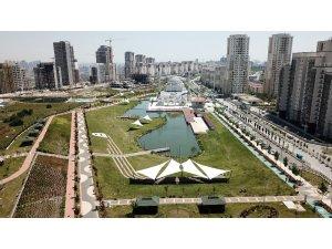 Bahçeşehir'e ikinci gölet: Hayatpark