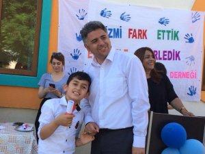 Tunceli'de otizmli çocuklar için etkinlik