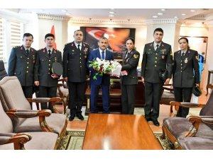 Tunceli'de Jandarma Teşkilatının 179'uncu kuruluş yıl dönümü