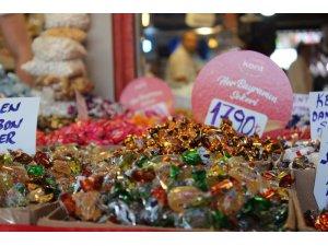 Sakarya'da bayramlık şekerler tezgahtaki yerini aldı