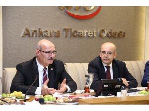 Başbakan Yardımcısı Mehmet Şimşek, ATO'da sahur toplantısına katıldı