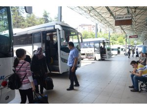 Bayram öncesi otobüs biletlerine ilgi düşük