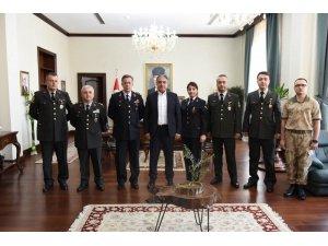 Jandarma'dan Vali Tekinarslan'a ziyaret