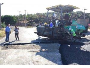 Şeytan Sofrası yolu asfaltlandı