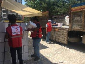 Türk Kızılay'ından Ramazan yardımları
