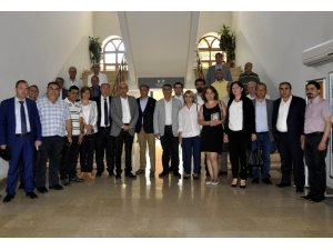 Ermenistan heyetinden DTSO'ya ziyaret