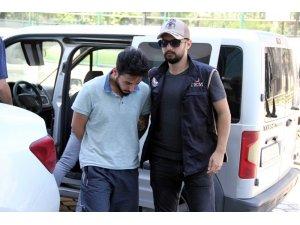 Samsun'da DEAŞ'tan adliyeye sevk edilen Iraklı tutuklandı
