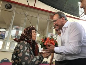 Karaçoban üreticilerle buluştu