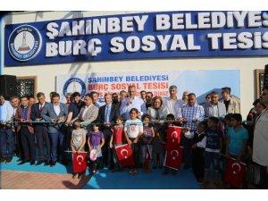Şahinbey Belediyesi'nden Burç'a dev sosyal tesis
