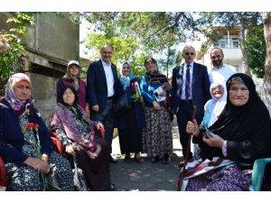 AK Parti Giresun Milletvekili adayları seçim gezilerini sürdürüyor