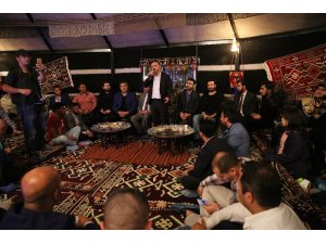 Yozgatlılar Başkan Ercan'ı ağırladı