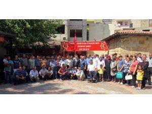 Sani Konukoğlu Vakfı'ndan Bayram ziyaretleri