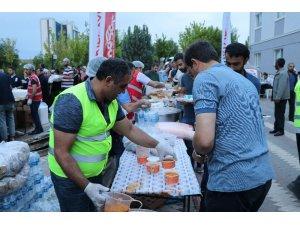 Kızılay'dan hasta yakınlarına iftar