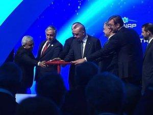 Trans Anadolu Doğalgaz Boru Hattı'nın (TANAP) açılışı gerçekleşti