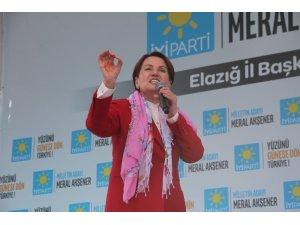 """İYİ Parti Genel Başkanı Akşener: """"TRT'yi kapatacağım, dedim. TRT'yi kapatıyorum"""""""
